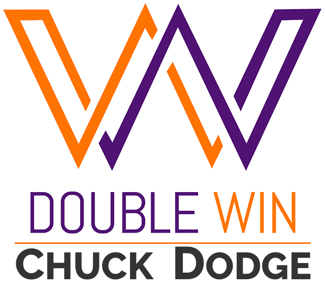 Double Win Logo CHUCK DODGE